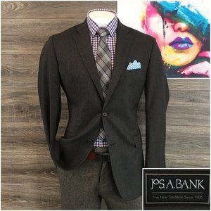 Jos A Bank Tailored Fit Mens Sport Coat Blazer